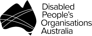 Disabled People's Organisations Australia (DPO Australia) logo