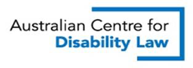 Australian Centre for Disability Law logo