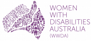 Logo for Women with Disabilities Australia