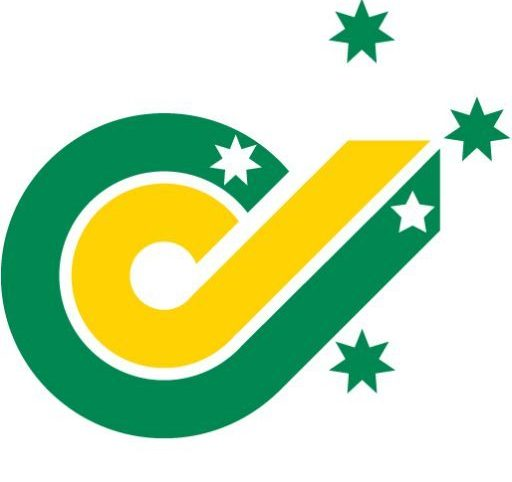 Inclusion Australia logo. A green circular C shape encircling a yelllow circular C shape. The Southern Cross constallation is overlaid.
