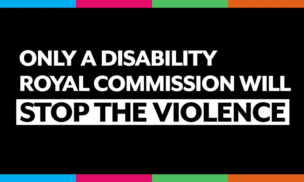 Only a royal commission will stop the violence
