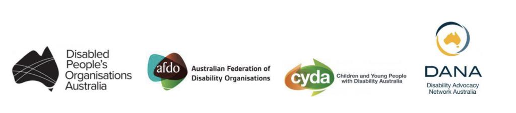 Logos of DPOA, AFDO, CYDA and DANA